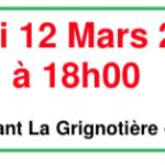 Soirée d'information Agriculture le jeudi 12 Mars 2015