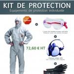 KIT d'Équipement de Protection Individuelle (EPI)