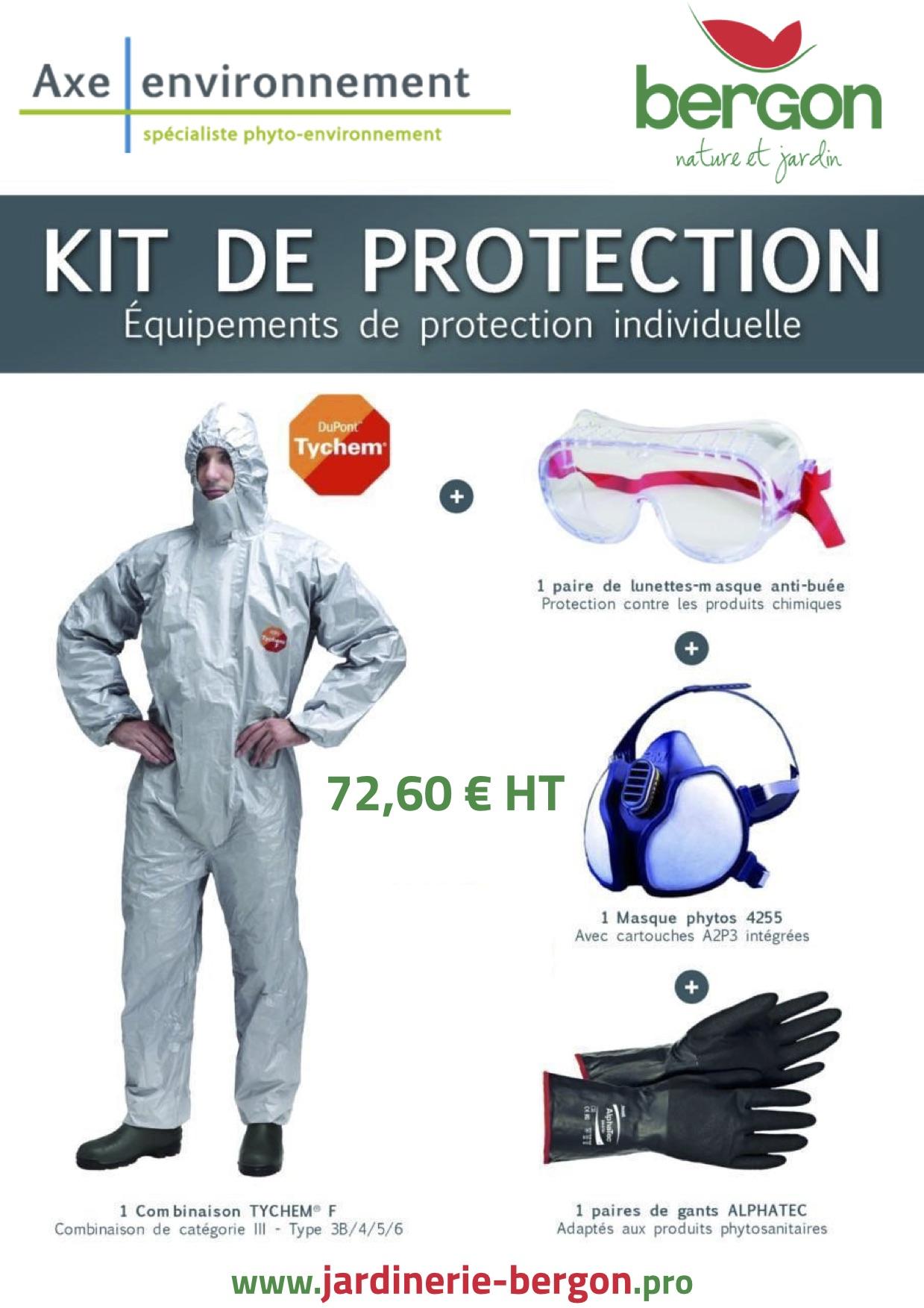 KIT d Équipement de Protection Individuelle (EPI) - Bergon Nature ... 5ff2f696436a