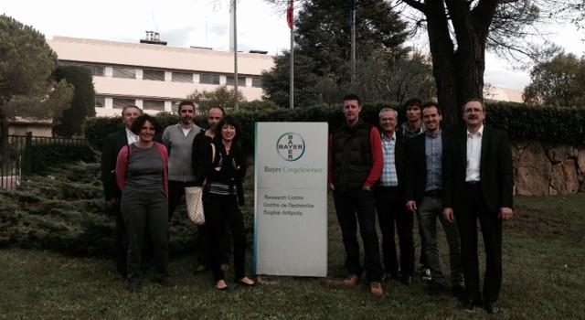 Visite du centre de recherche Bayer