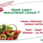 Vente direct producteurs locaux !!