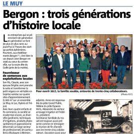 Bergon : trois générations d'histoire locale