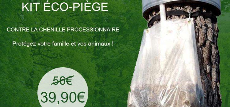 DESTOCKAGE : Kit éco-piège contre la chenille processionnaire
