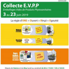 Collecte E.V.P.P dans nos dépôts