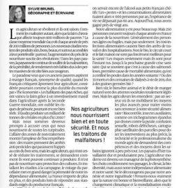 «Produire et protéger» : les limites de la production bio en France