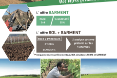 SERVICE : Sol sarment – campanalyse 🍃